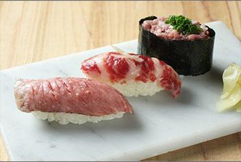 肉とろ三種盛り